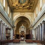 basilica San_Crisogono_(Rome)_-_Interior_Diliff_edit